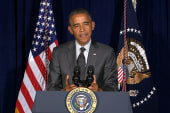 Obama: Border crisis isn't 'photo op'