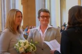 Same-sex marriages resume in California