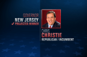 Chris Christie wins re-election in New Jersey