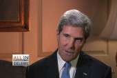 Kerry warns inaction on Syria will...
