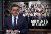 Moments of silence - and then what?