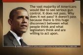 Obama's stance on gun control