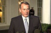 Boehner doubles down on default