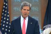 Kerry: 'There must be accountability'