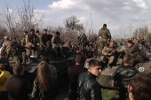 Crisis escalates in Ukraine