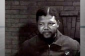 Mandela's first TV interview