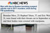 Strange twist in Boston Marathon bombing...
