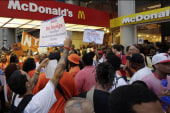 The largest fast-food strike to date