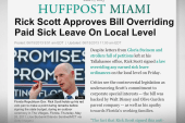 Gov. Rick Scott is back in the running for...