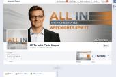 Hayes: 'Like' us on Facebook so we know we...