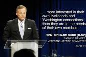 Sen. Burr picks a fight with veterans