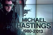 Chris Hayes remembers Michael Hastings