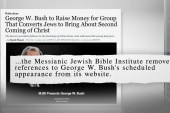 George W. Bush talks to Jews for Jesus