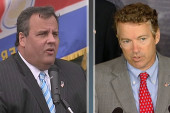 Christie, Paul spar over national security