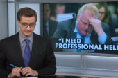 Rob Ford: 'I need professional help'