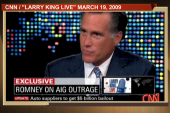 Contradictions in Romney's claims he...