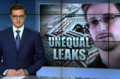 Unequal responses to leaked information