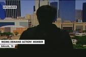 Texas mom speaks about armed demonstrators