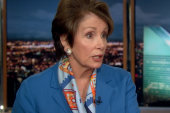 Nancy Pelosi knocks the GOP's Benghazi...
