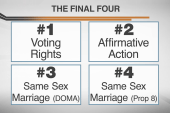 The final four: Huge Supreme Court case...