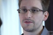 Does being in Russia undercut Snowden's...