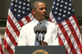Obama's pressing speech on climate change
