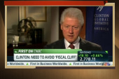 Bill Clinton causes problems for President...