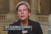 Sen. Warren celebrates victory in CFPB...