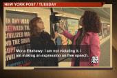Mona Eltahawy shares story of arrest for...