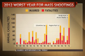 2012 worst year for mass shootings