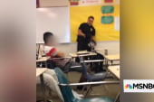 Officer in viral classroom takedown fired