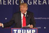 Trump's anti-Muslim plan gets standing...