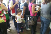 Surge of migrant children strains the system