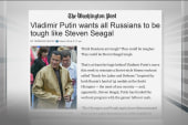 Steven Seagal defends Russian president