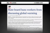 WI agency bans mention of climate change