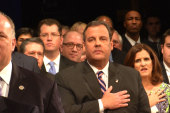The subtext of Christie's inauguration