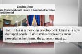 NJ Senator: If Christie knew...
