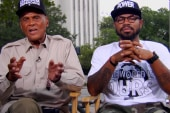 Harry Belafonte asks Jay Z and Beyonce to...