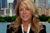 Wendy Davis says she has aspirations to...