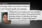 Death row execution halted