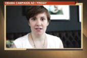 Lena Dunham's cheeky Obama ad a new turn...