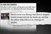 New witnesses come forward in Brown shooting