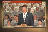Hayes: Romney 'toeing neo-con line' in...