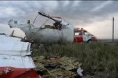 Malaysian plane shot down