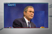 George W. Bush causes controversy with speech