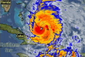 Hurricane Irene upgraded to Category 3