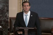 Senate 'filibuster' still Cruz-ing