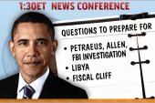 Obama to face tough questions in afternoon...
