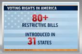 Voting restriction bills move forward in...