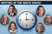POTUS set to meet with leaders today in DC